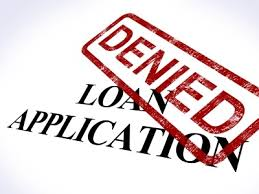 avoide disapproved loan application